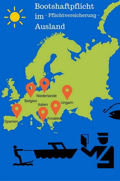 Bootsversicherung im Ausland