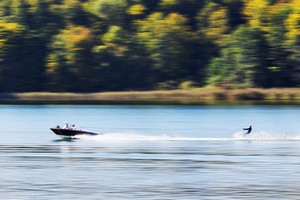 Wassersport mit Jetski